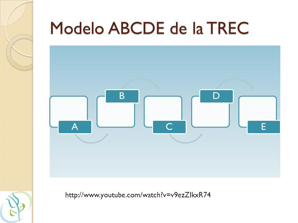 Modelo ABCDE de la TREC http://www.youtube.com/watch v=v9ezZIkxR74 A B