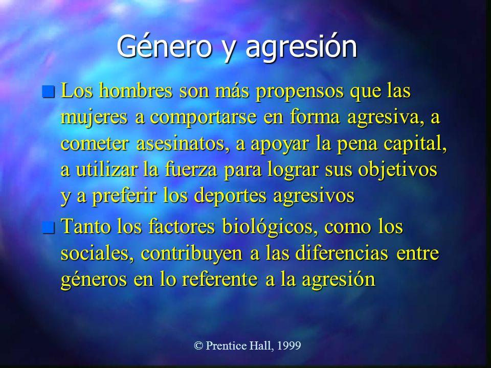 Género y agresión
