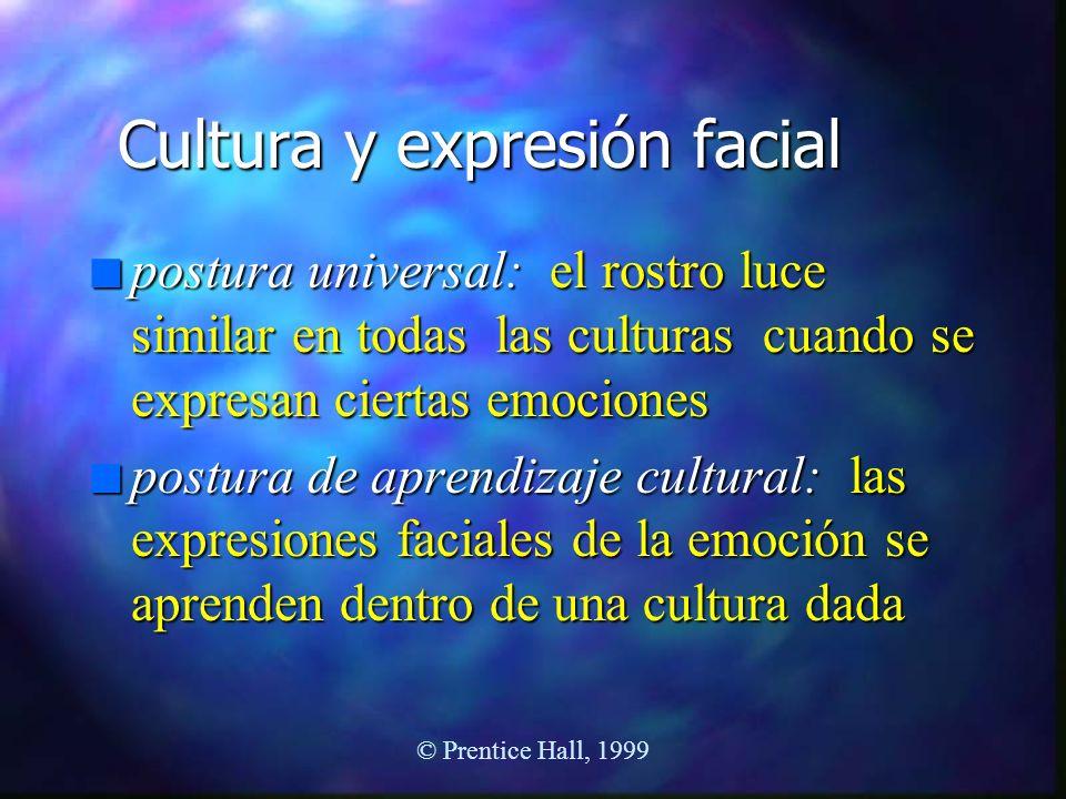 Cultura y expresión facial