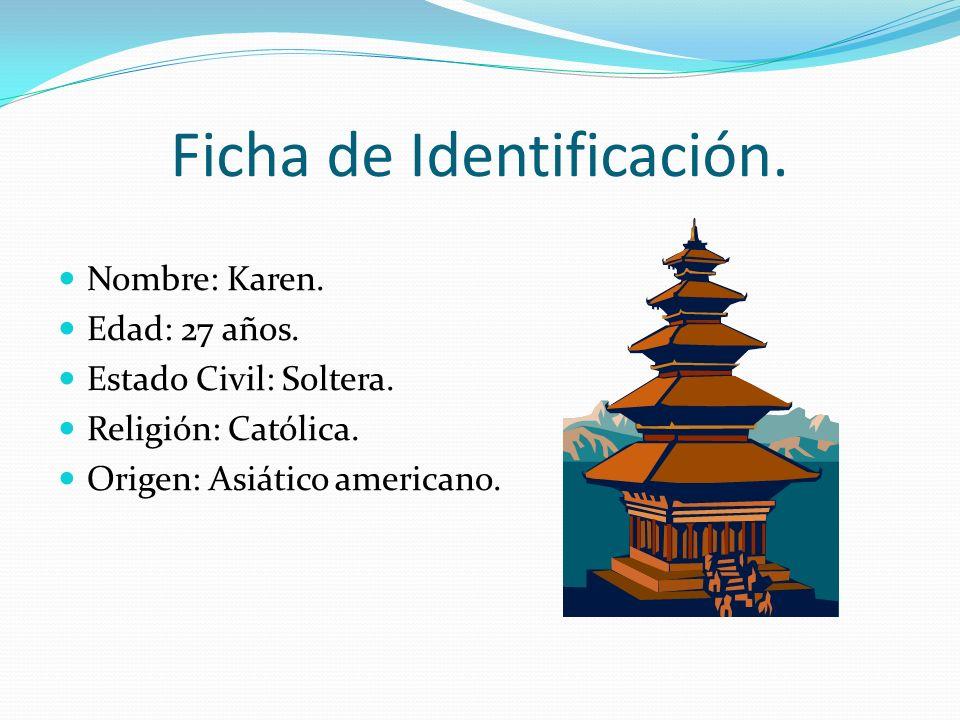 Ficha de Identificación.