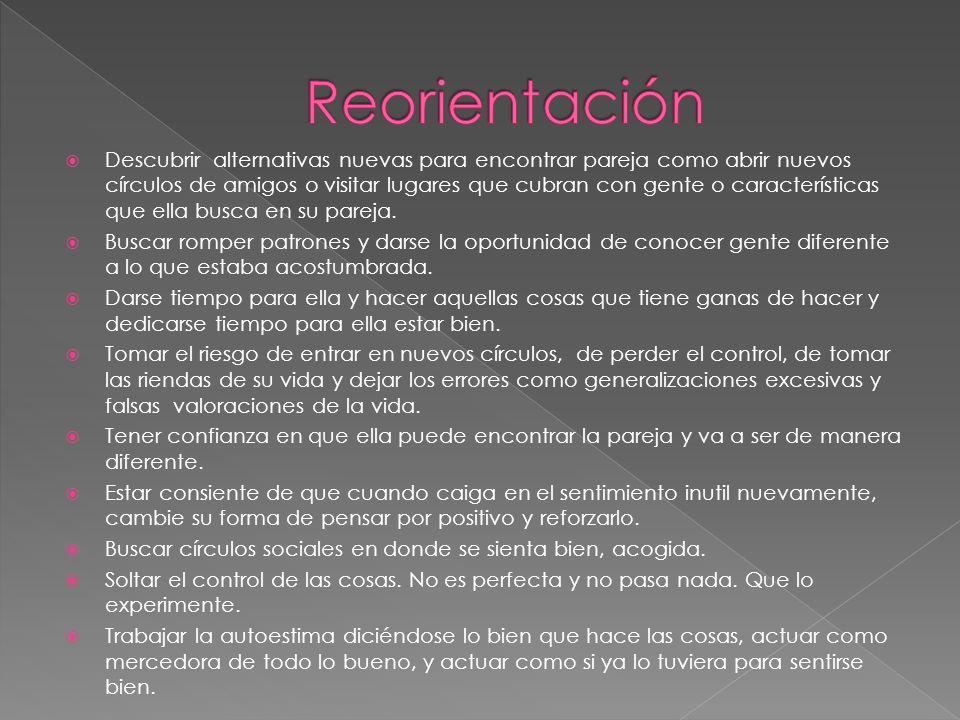 Reorientación