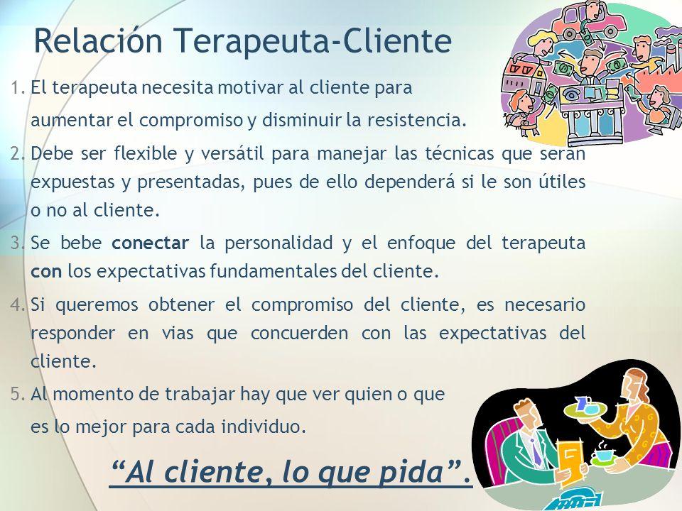 Relación Terapeuta-Cliente