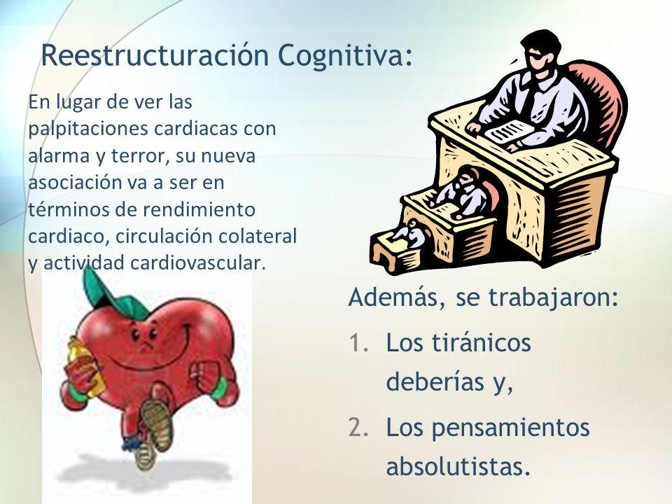 Reestructuración Cognitiva: