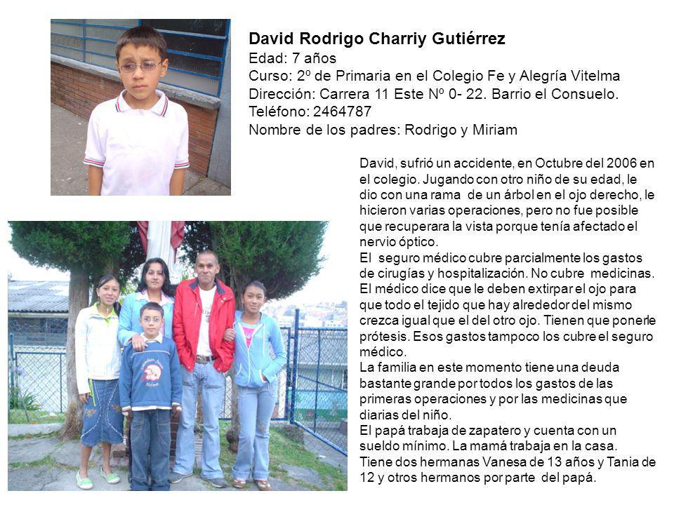 David Rodrigo Charriy Gutiérrez