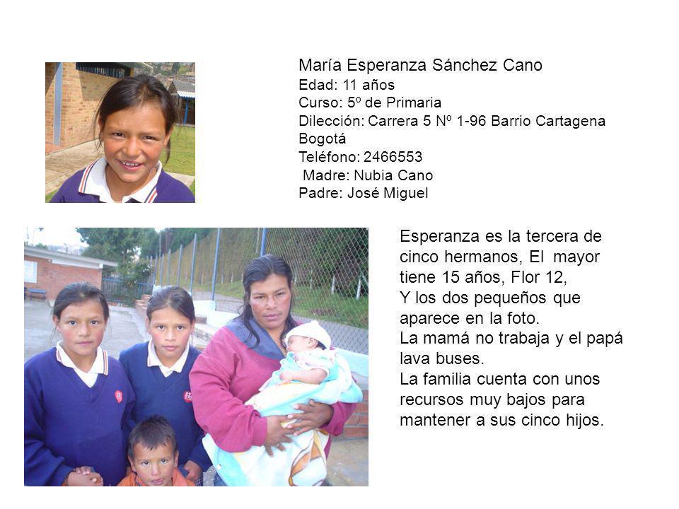 María Esperanza Sánchez Cano