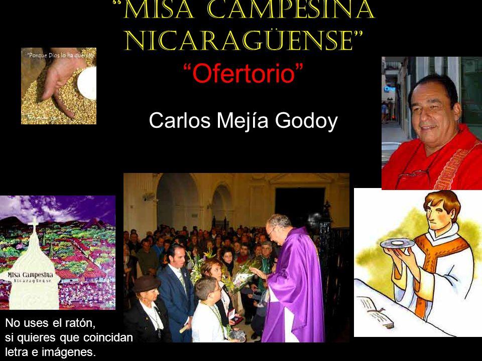Misa campesina nicaragüense Ofertorio