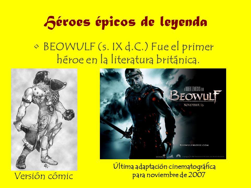 Héroes épicos de leyenda