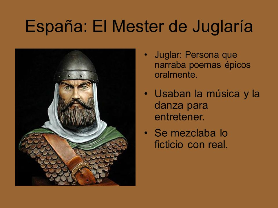 España: El Mester de Juglaría