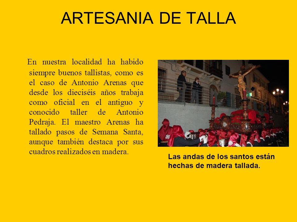 ARTESANIA DE TALLA