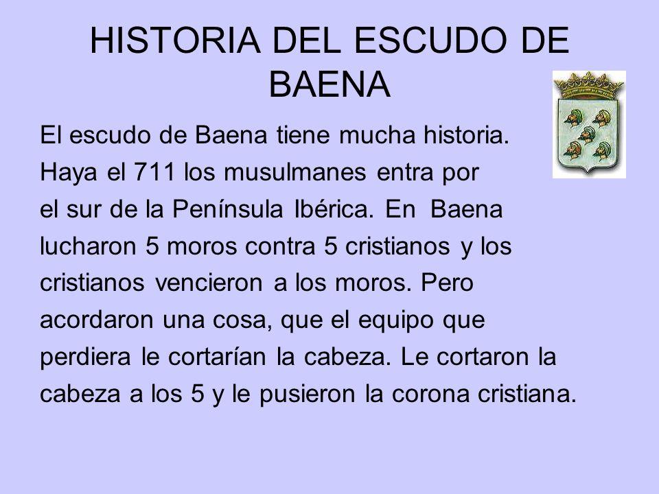 HISTORIA DEL ESCUDO DE BAENA