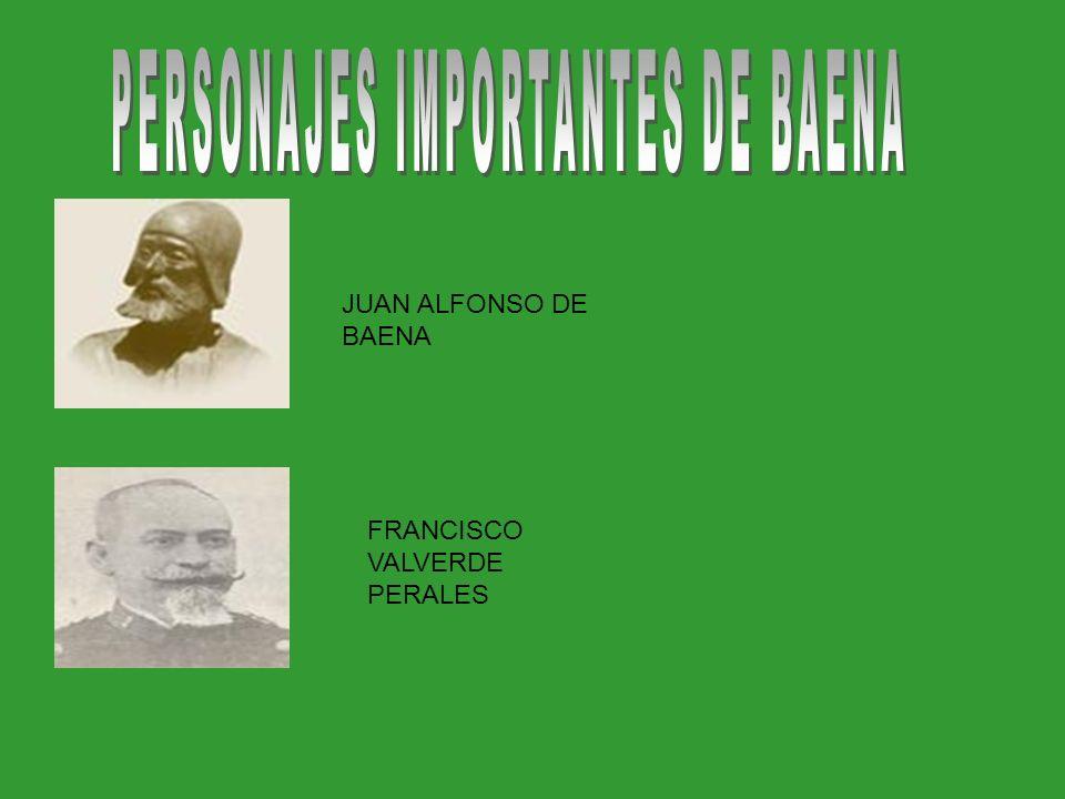 PERSONAJES IMPORTANTES DE BAENA