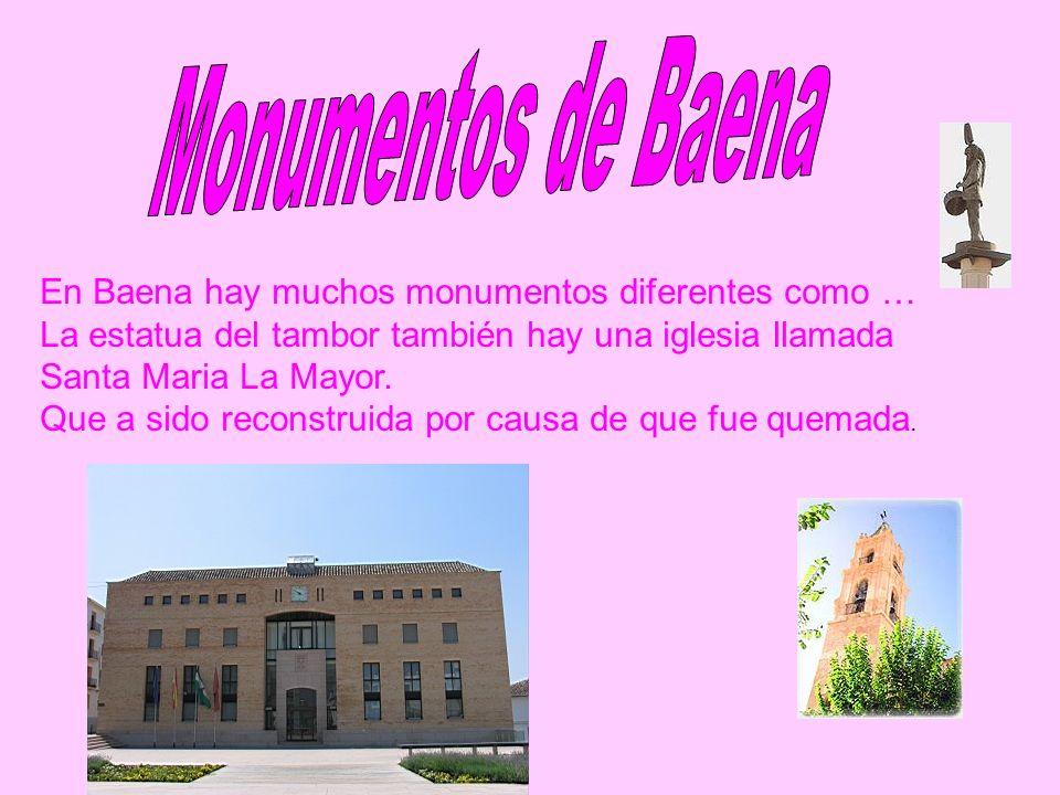 Monumentos de Baena En Baena hay muchos monumentos diferentes como …