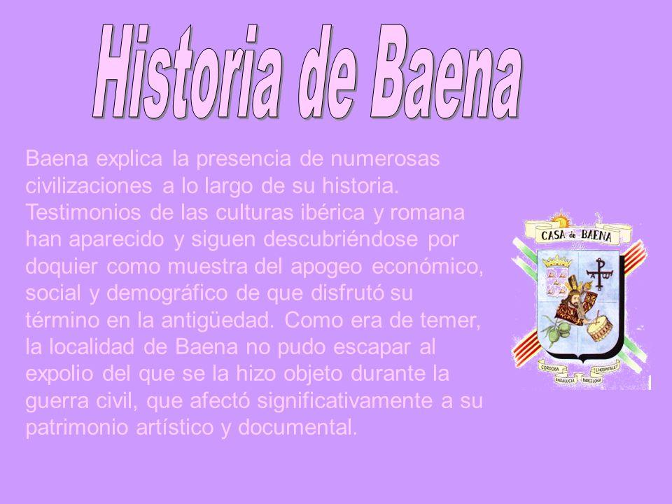 Historia de Baena