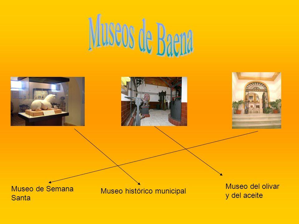 Museos de Baena Museo del olivar Museo de Semana