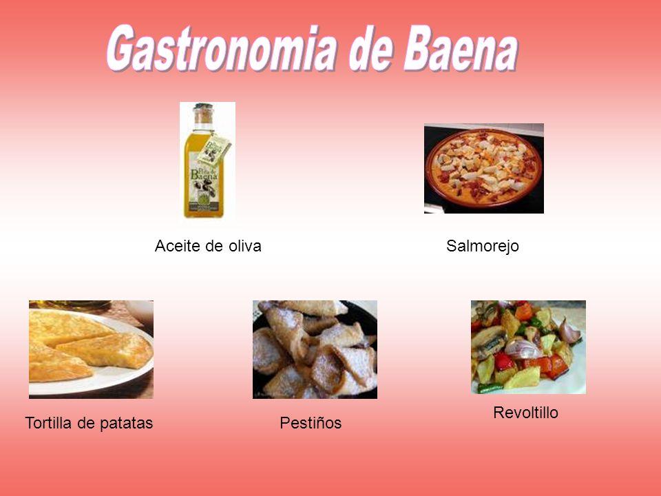 Gastronomia de Baena Aceite de oliva Salmorejo Revoltillo
