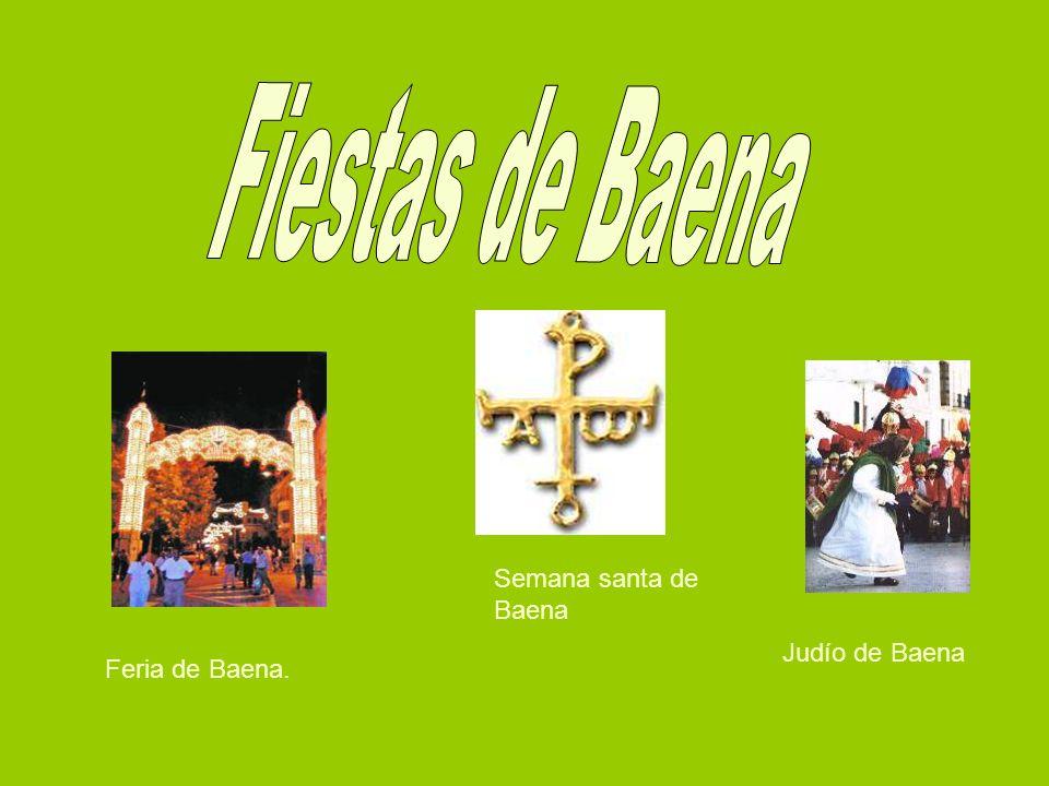 Fiestas de Baena Semana santa de Baena Judío de Baena Feria de Baena.