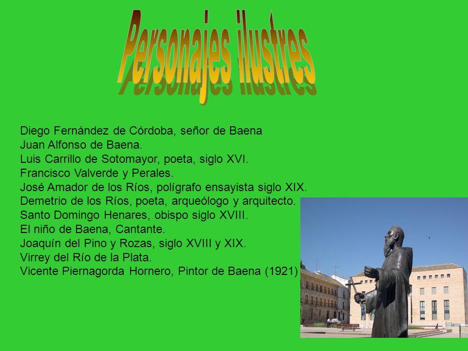 Personajes ilustres Diego Fernández de Córdoba, señor de Baena
