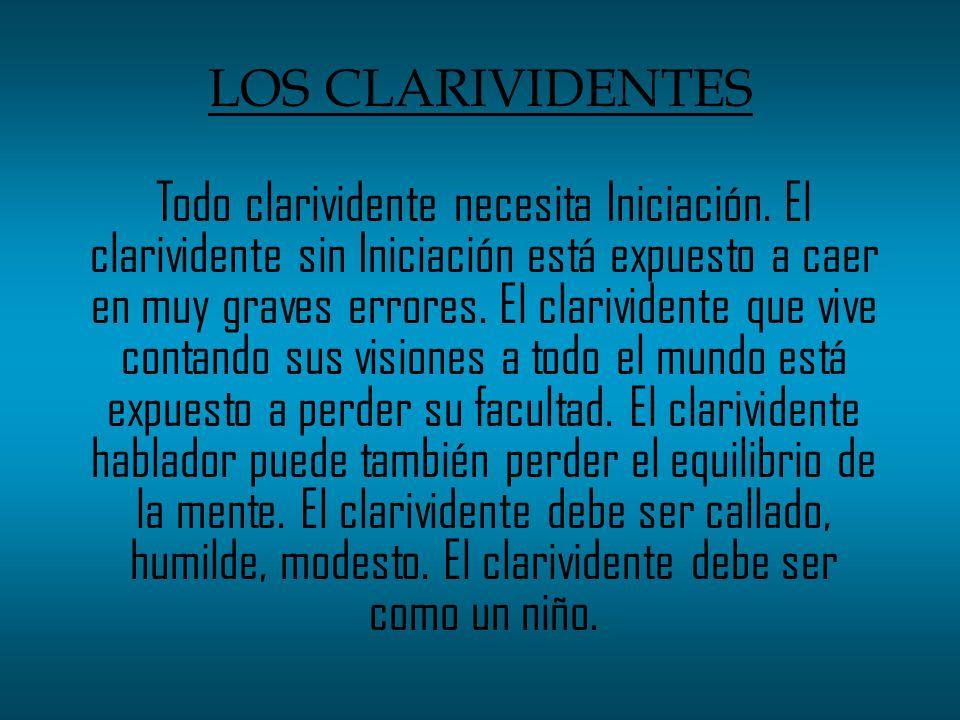 LOS CLARIVIDENTES