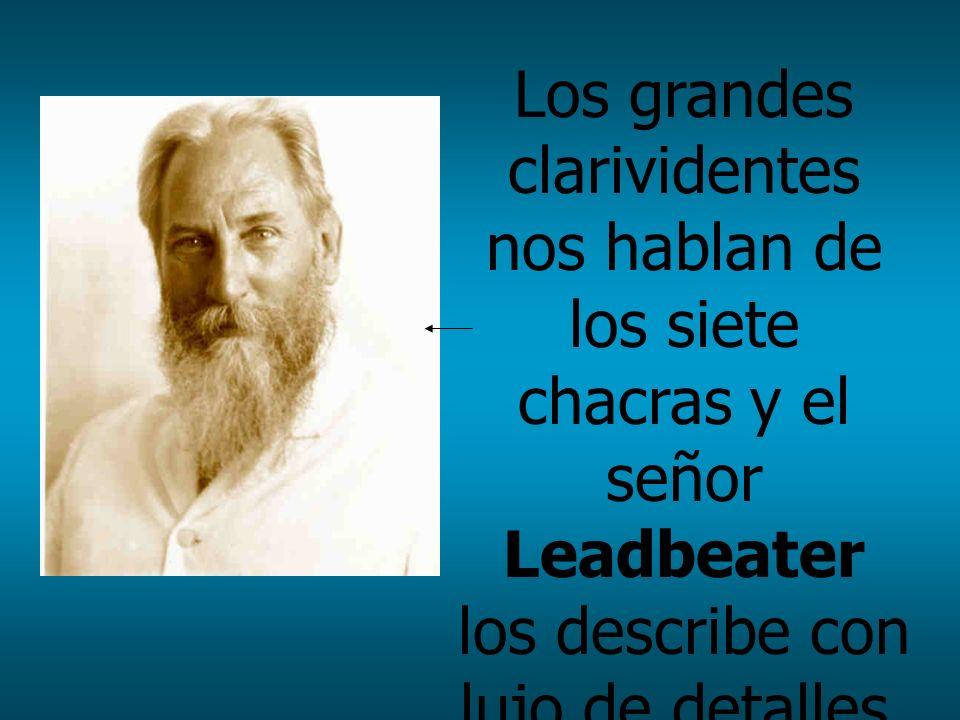 Los grandes clarividentes nos hablan de los siete chacras y el señor Leadbeater los describe con lujo de detalles.
