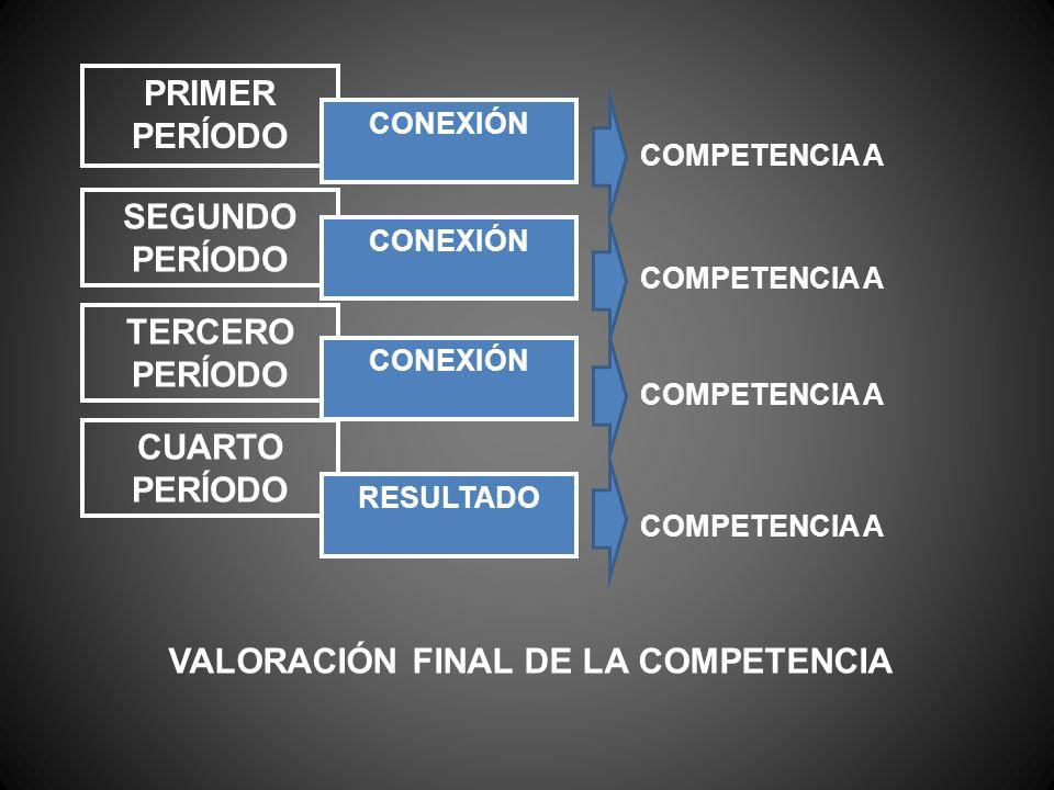 VALORACIÓN FINAL DE LA COMPETENCIA