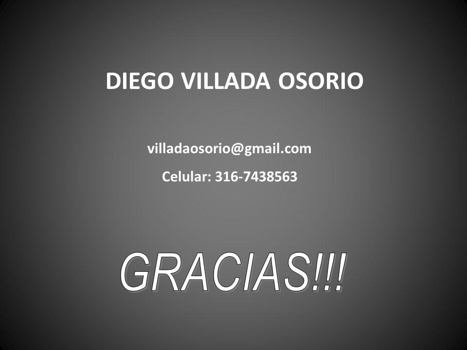 DIEGO VILLADA OSORIO GRACIAS!!! villadaosorio@gmail.com