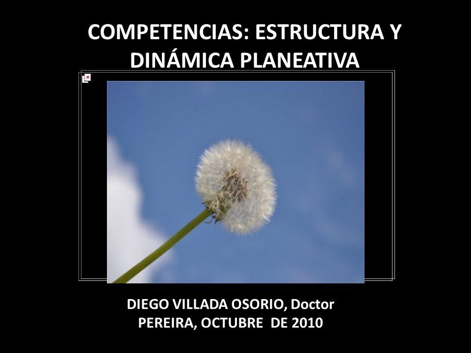 COMPETENCIAS: ESTRUCTURA Y DINÁMICA PLANEATIVA