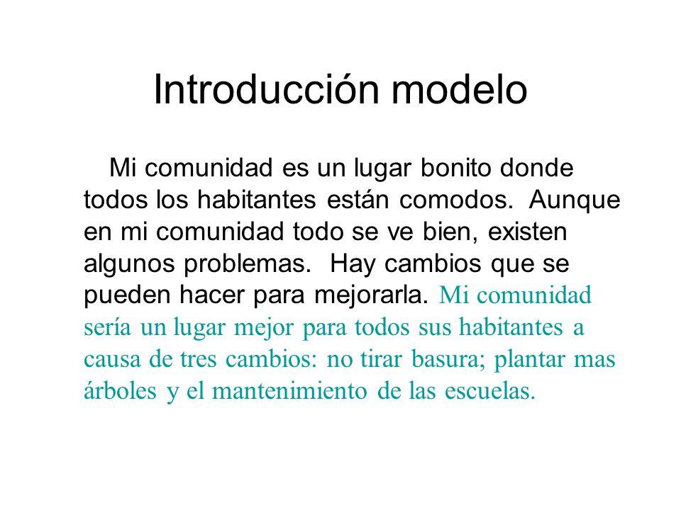 Introducción modelo
