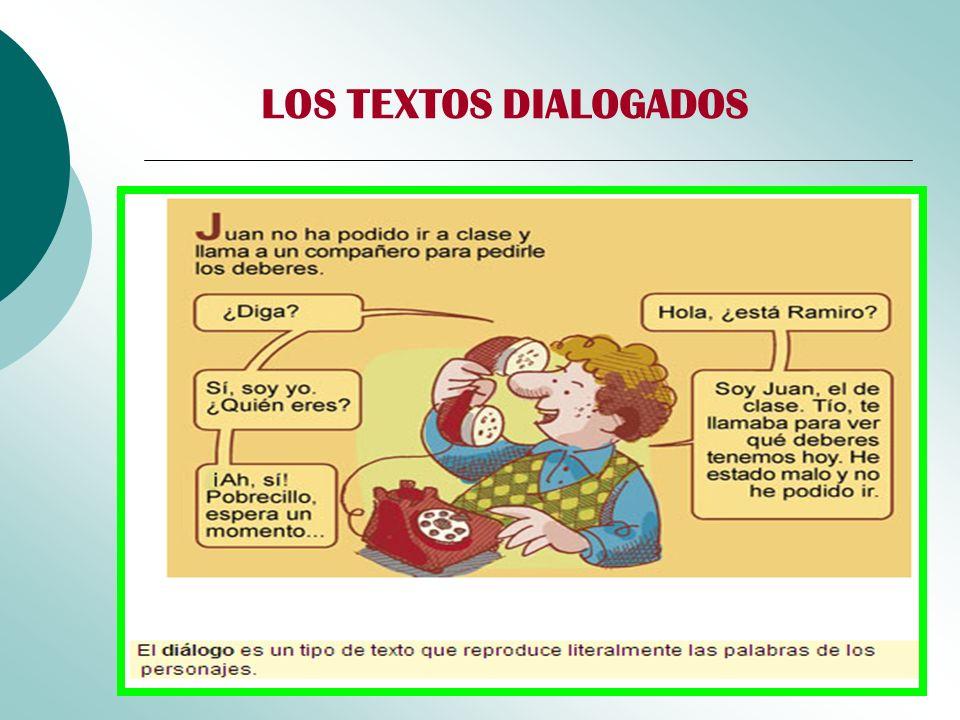LOS TEXTOS DIALOGADOS