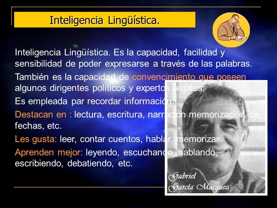 Inteligencia Lingüística.
