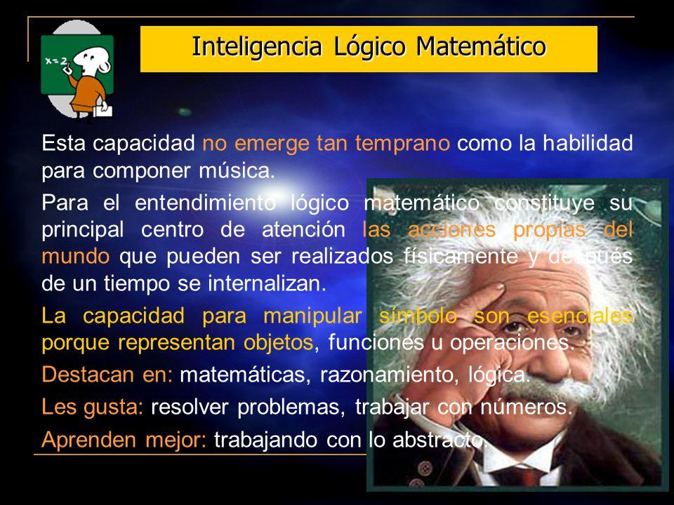 Inteligencia Lógico Matemático