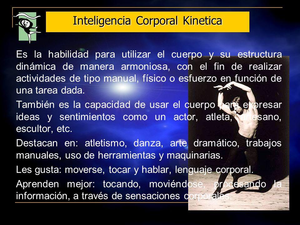 Inteligencia Corporal Kinetica
