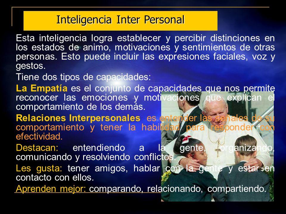 Inteligencia Inter Personal
