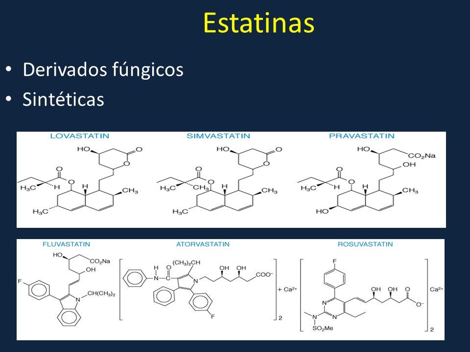Estatinas Derivados fúngicos Sintéticas