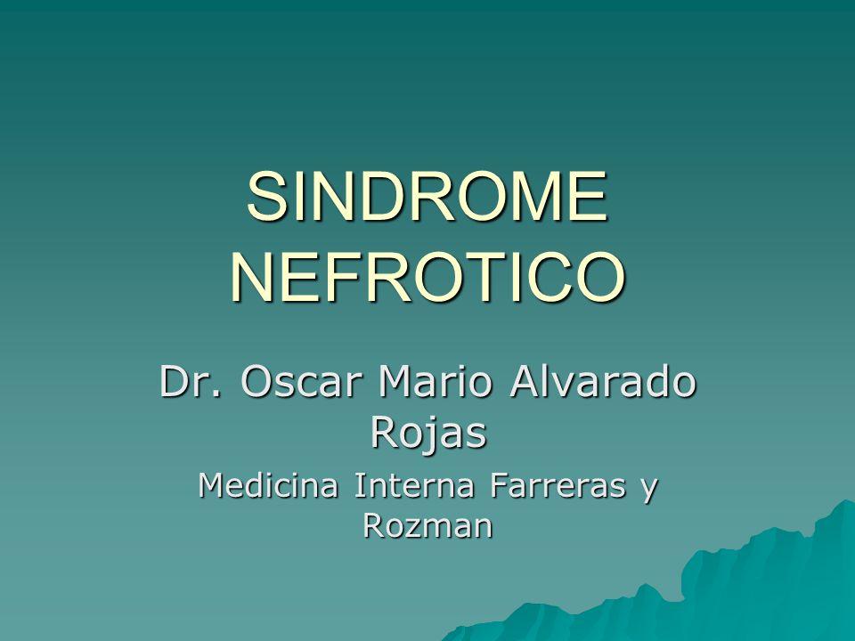 Dr. Oscar Mario Alvarado Rojas Medicina Interna Farreras y Rozman