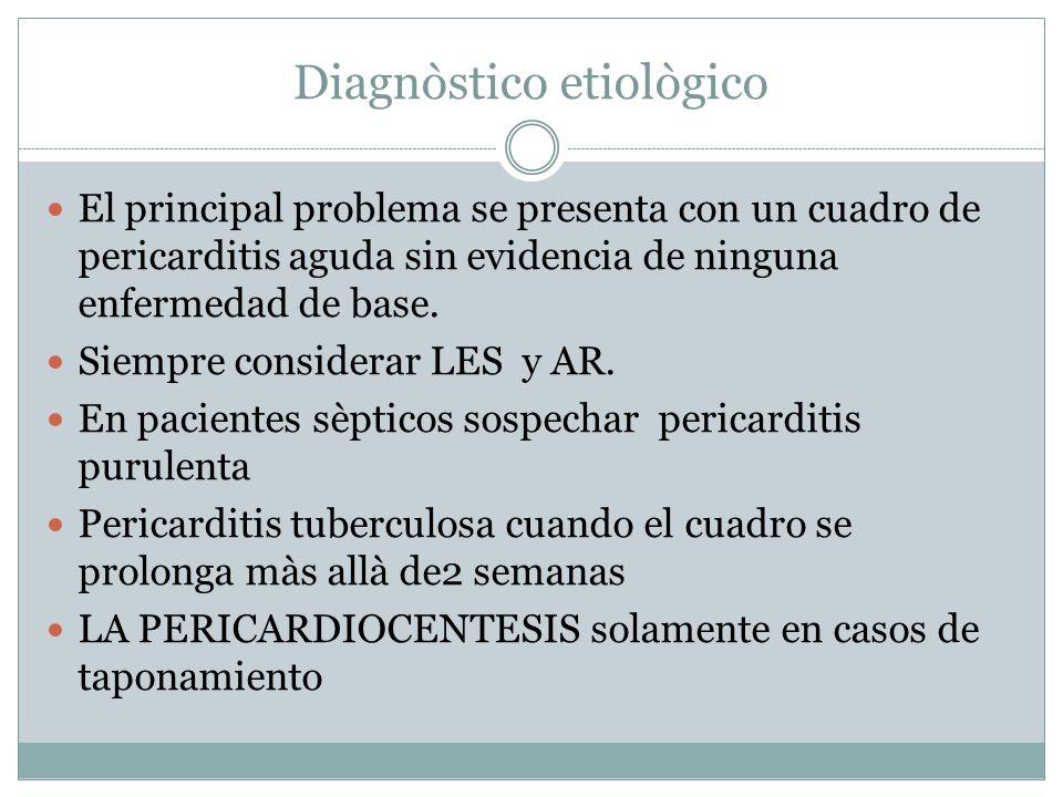 Diagnòstico etiològico
