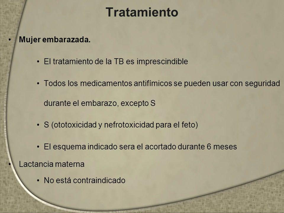 Tratamiento Mujer embarazada.