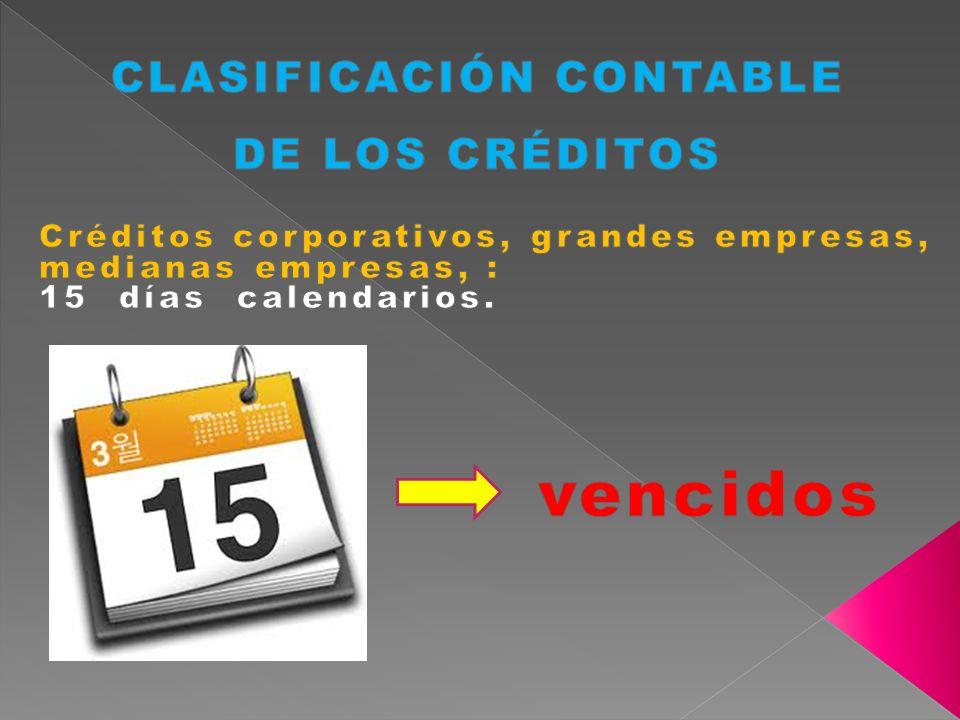 CLASIFICACIÓN CONTABLE