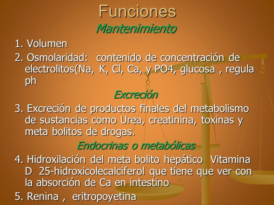 Endocrinas o metabólicas