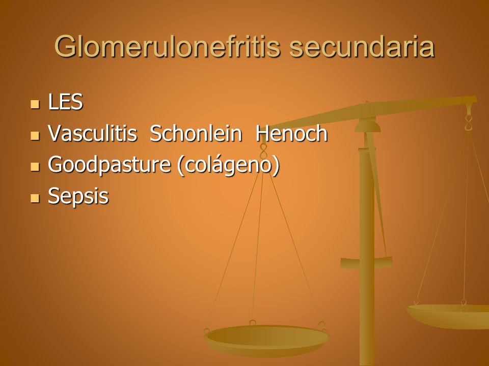 Glomerulonefritis secundaria