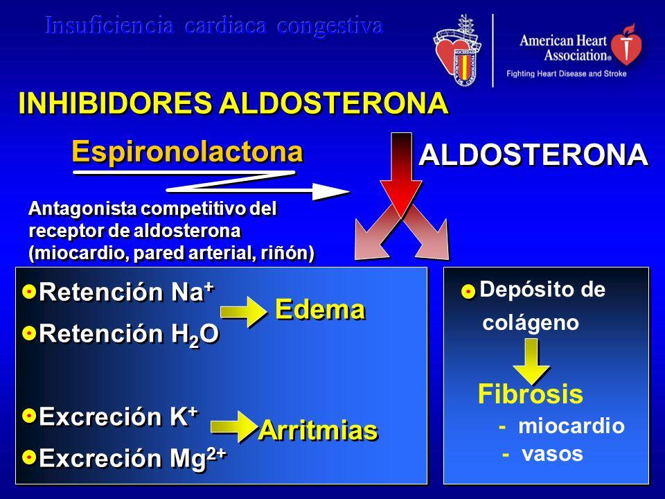 INHIBIDORES ALDOSTERONA