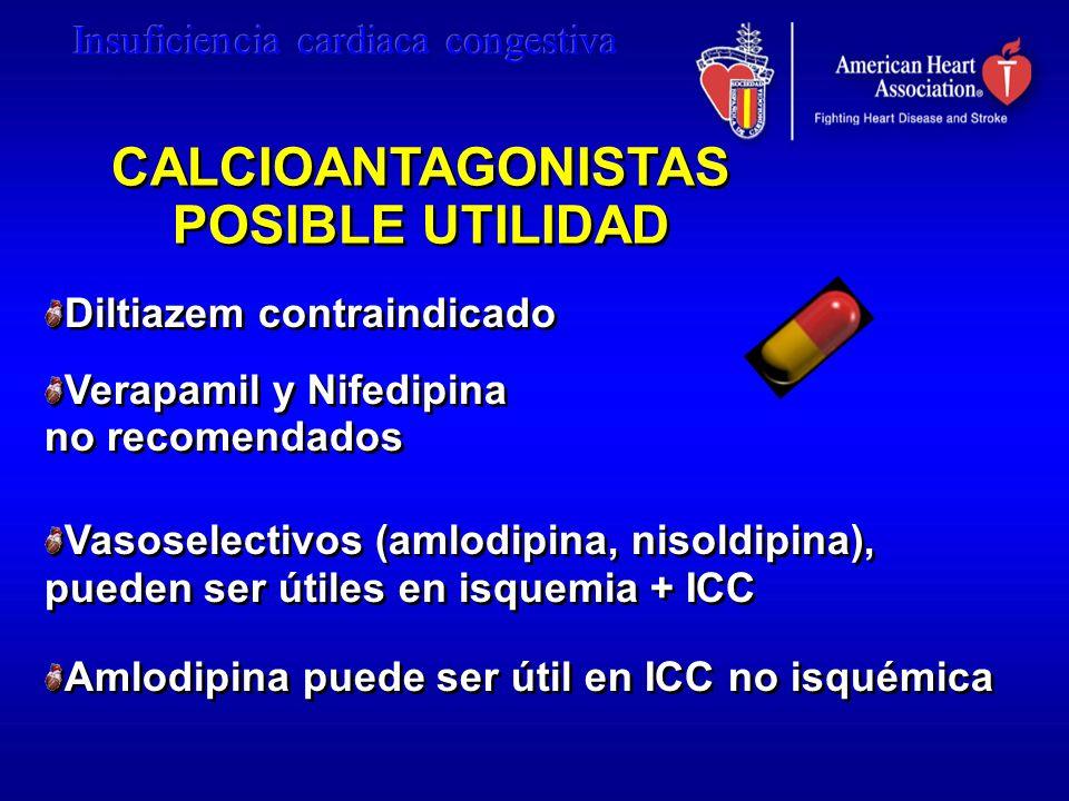 CALCIOANTAGONISTAS POSIBLE UTILIDAD