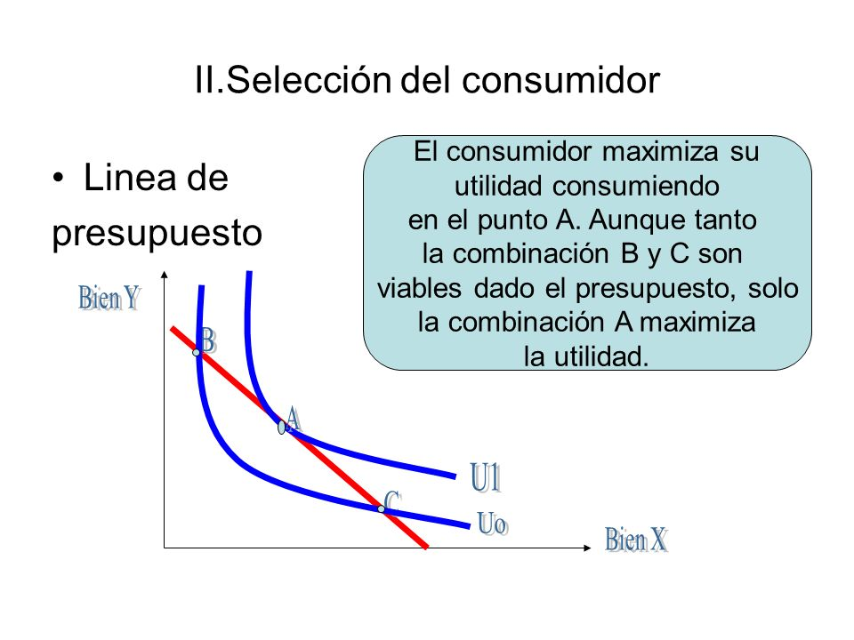 II.Selección del consumidor