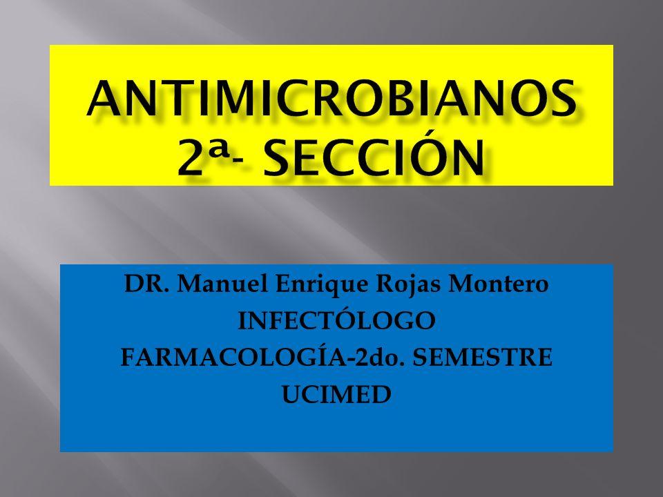 ANTIMICROBIANOS 2ª- Sección