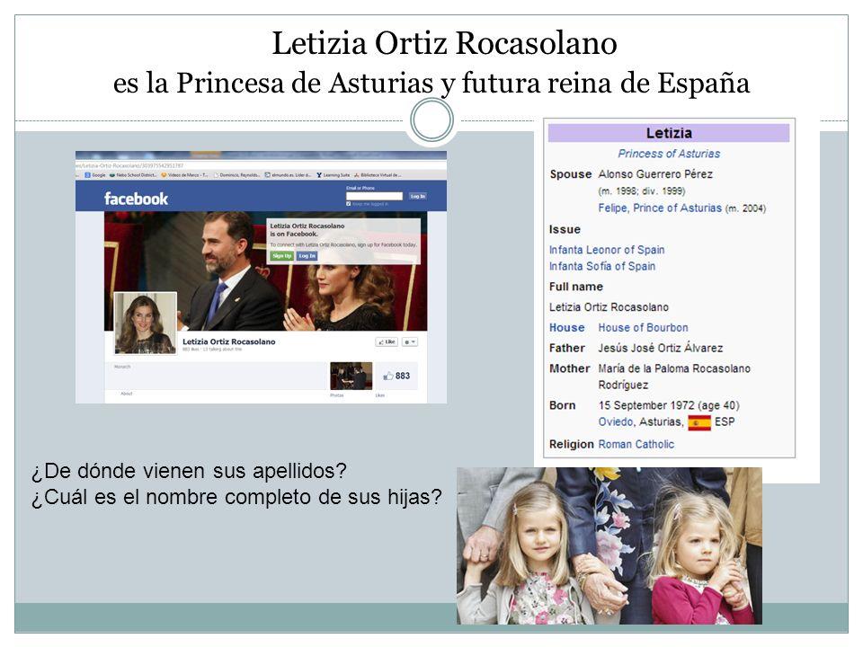 Letizia Ortiz Rocasolano