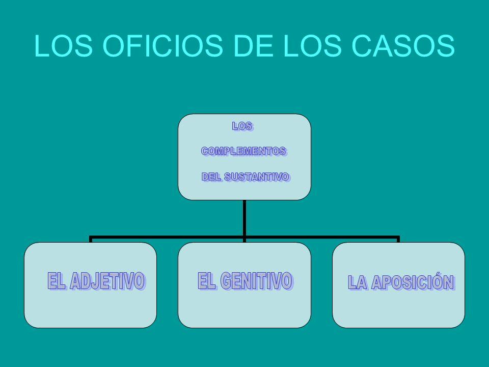 LOS OFICIOS DE LOS CASOS
