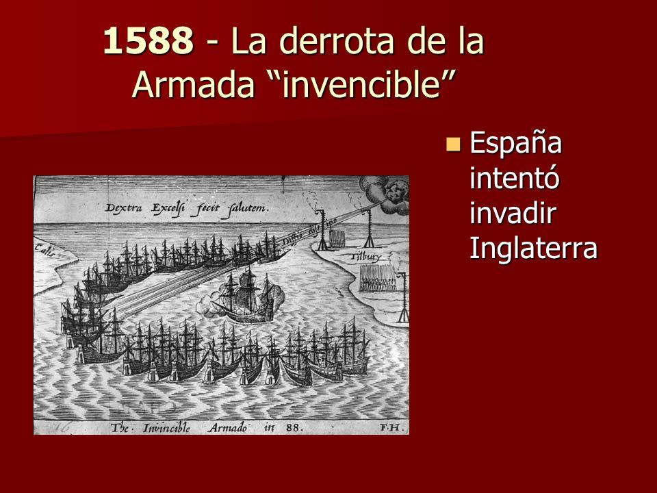 1588 - La derrota de la Armada invencible