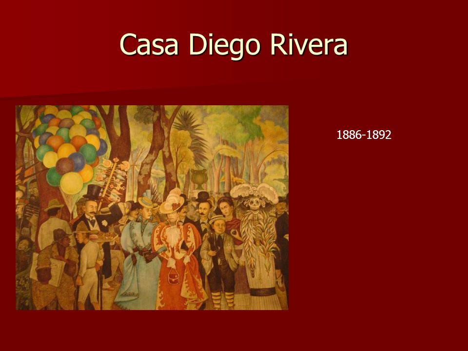 Casa Diego Rivera 1886-1892