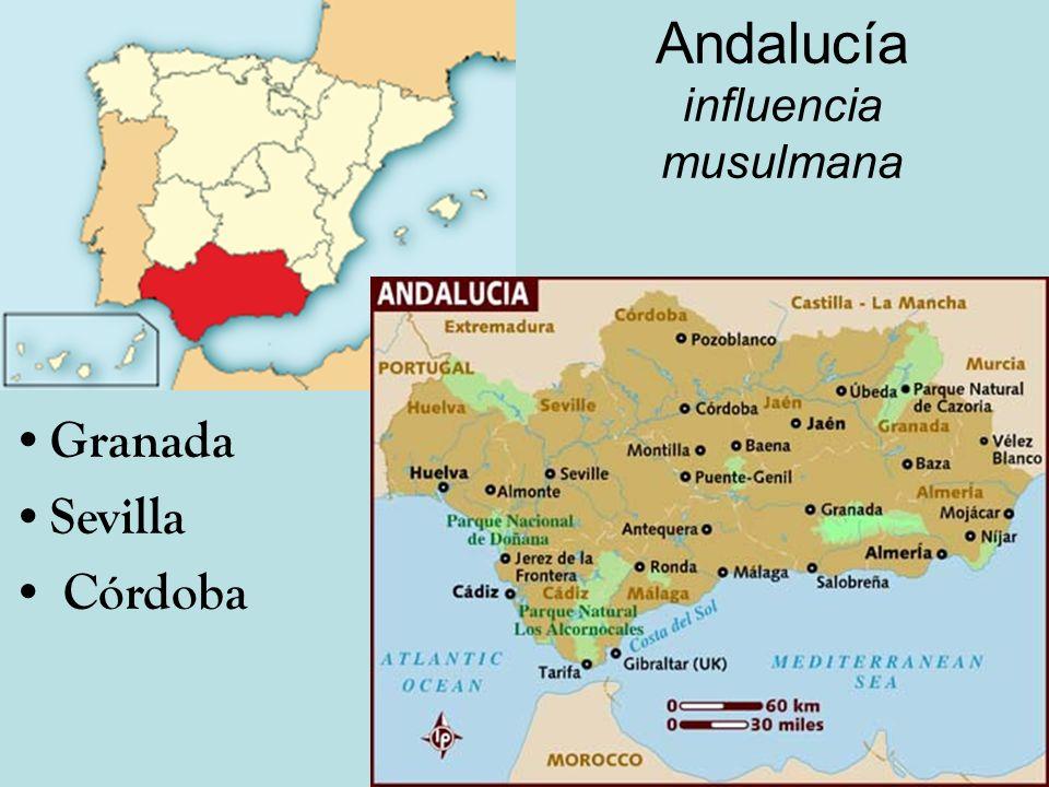 Andalucía influencia musulmana