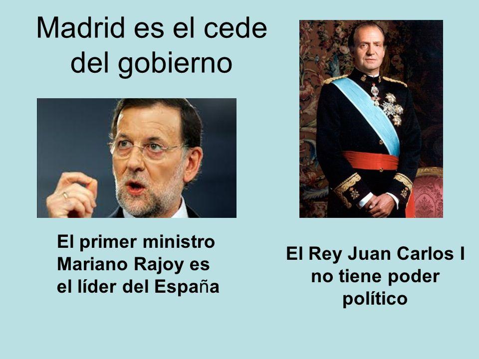 Madrid es el cede del gobierno