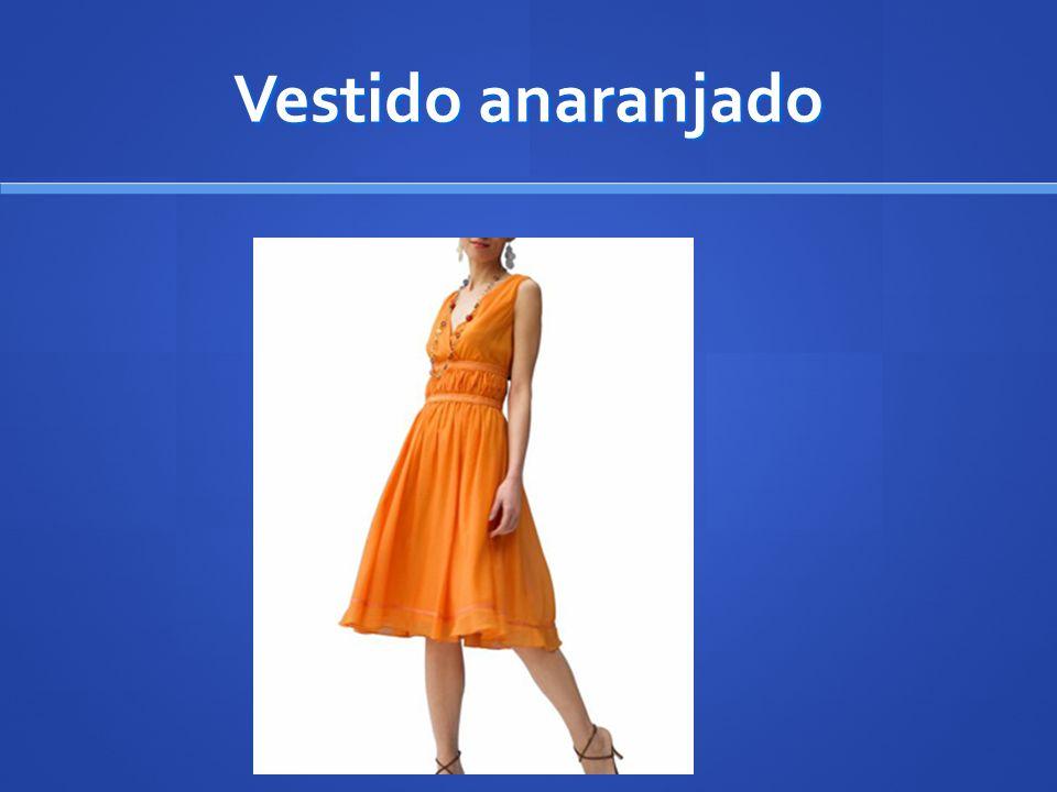 Vestido anaranjado
